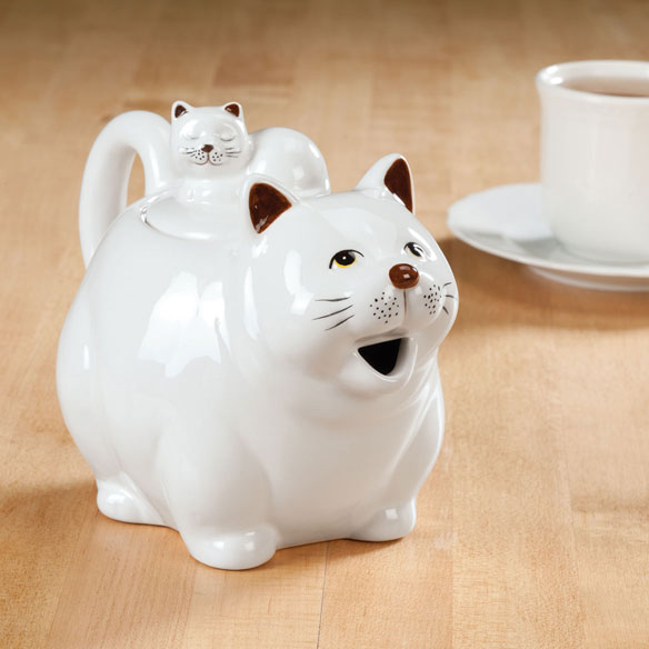Cat Teapot by Home-Style Kitchen™ - View 1