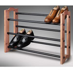 Storage & Organizers - Woodlore® Expandable Cedar Shoe Rack