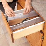 Storage & Organizers - Snap-Fitting Drawer Dividers, Set of 2