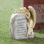 "New - ""In Loving Memory"" Garden Angel"