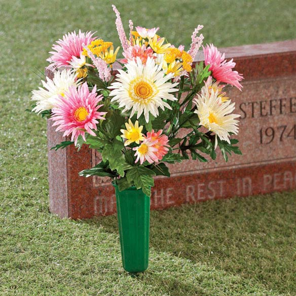 Daisy Memorial Bouquet by OakRidge Outdoor™ - View 1