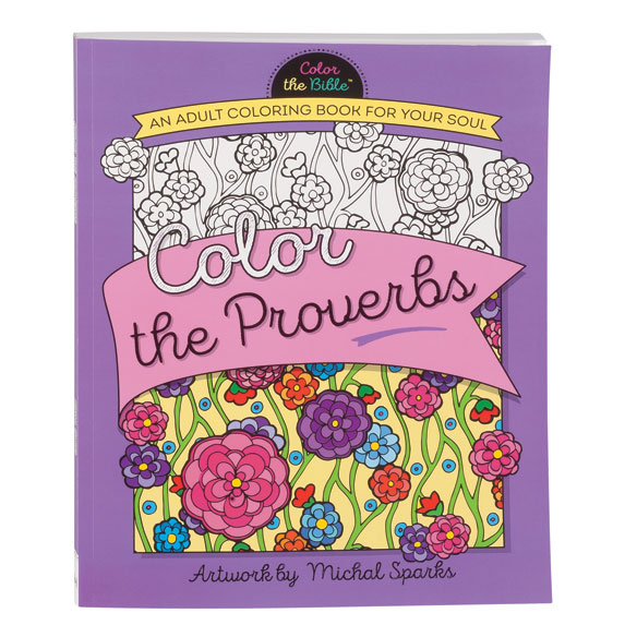 Color the Proverbs Coloring Book - View 1