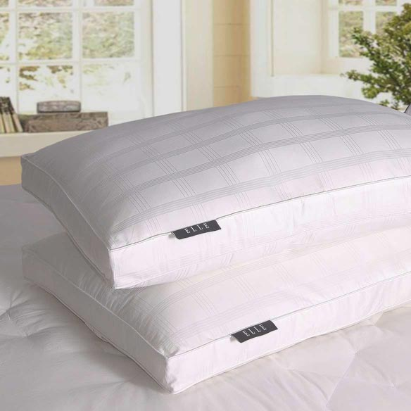 Kathy Ireland® 600 Thread Count Cotton Pillow, Set of 2