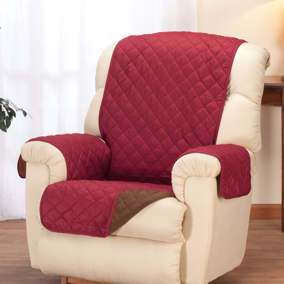 Reversible Microfiber Recliner Cover