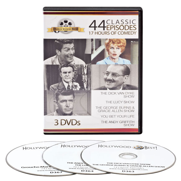 Hollywood Best Classic Comedies, 3-DVD Set