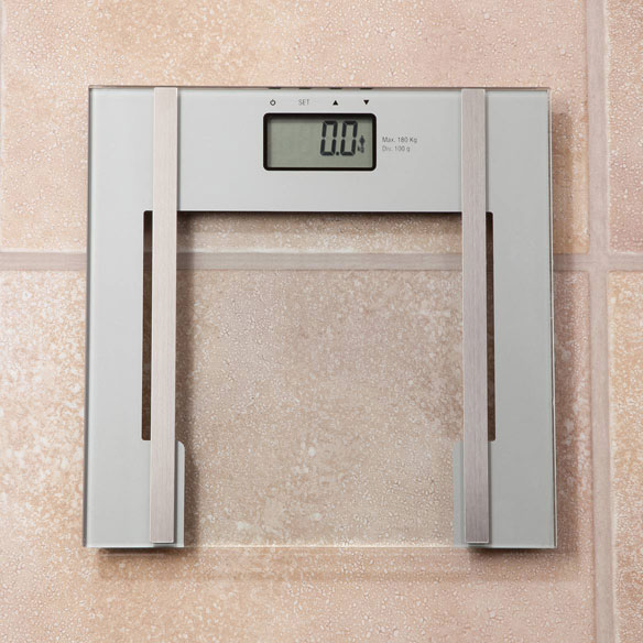 2-in-1 Glass Digital Bath Scale