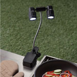 Outdoor Entertaining - LED Grill Clip Light