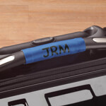 New - Personalized Luggage Handle Wrap