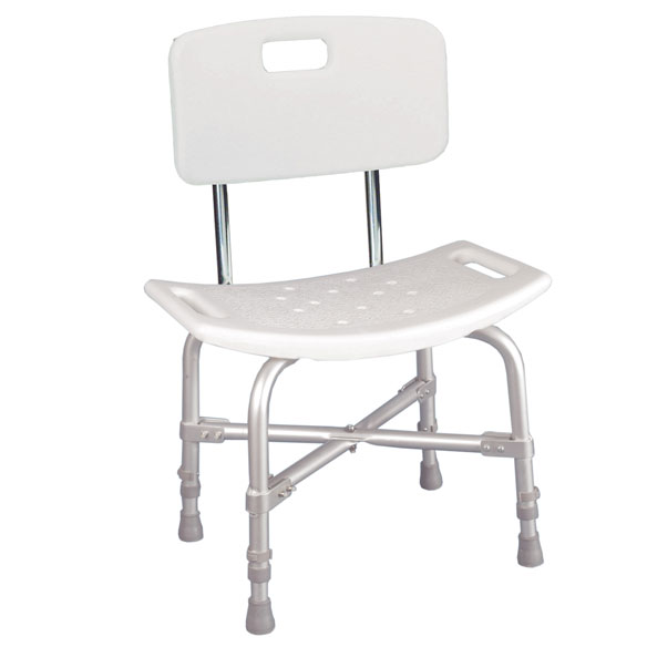 Bariatric Shower Chair With Back Shower Seat Walter Drake