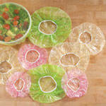 Food Storage - Reusable Plastic Bowl Covers - Set of 24