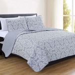 Bedroom Basics - Isabel Collection 3-Piece Quilt Set