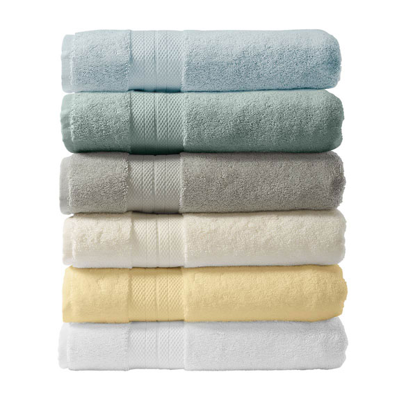 Geneva Collection 6-Piece Luxury Towel Set