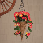Outdoor - Fully Assembled Cosmos Hanging Basket by Oakridge™ Outdoor