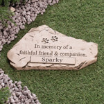 Pets - Personalized Faithful Friend & Companion Memorial Stone