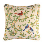 Decorations & Accents - Songbird Tapestry Pillow Cover