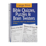 Books & Videos - Large Print Bible Puzzle Book