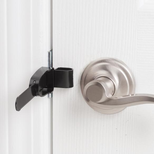 Portable Door Lock - View 1 ... & Portable Door Lock - Temporary Door Lock - Portable Lock - Walter ... Pezcame.Com