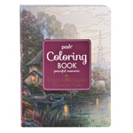 "Books & Videos - Thomas Kinkade Coloring Book, ""Peaceful Moments"""