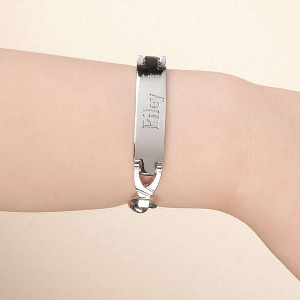 Personalized Children's ID Bracelet - View 1