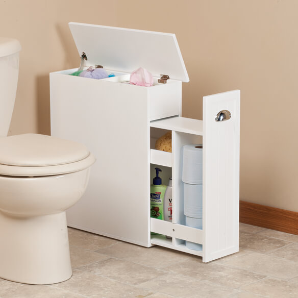 Slim bathroom storage cabinet by oakridge slim cabinet Thin bathroom cabinet