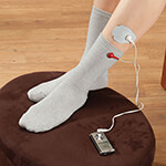 Supplements & Creams - Electrode (TENS) Socks, 1 Pair
