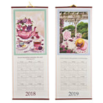 Labels & Stationery - Victorian Floral Scroll Calendar