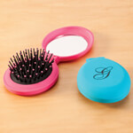 Hair, Nail & Skincare - Personalized Compact Flip Brush