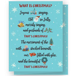 Christmas Cards - Personalized What is Christmas Cards - Set of 20