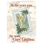 Christmas Cards - Personalized The More I Love Christmas Cards - Set of 20