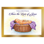 Christmas Cards - Personalized Share the Love of Jesus Christmas Cards - Set of 20