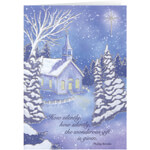 Christmas Cards - Personalized Twilight Chapel Christmas Cards - Set of 20