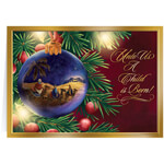 Christmas Cards - Personalized Nativity Ornament Christmas Cards - Set of 20