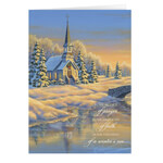 Christmas Cards - Personalized Reflection of Winter's Eve Card Set of 20