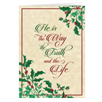 Christmas Cards - Personalized He is the Way Christmas Card - Set of 20