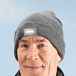 Health, Beauty & Apparel - Knit Cap with LED Light