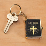 World Religion Day  - Mini Bible Key Chain