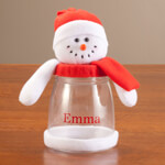 Gifts for All - Personalized Snowman Treat Jar