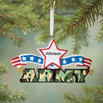Ornaments - Personalized Resin Military Ornament