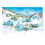 Christmas Cards - Peaceful Village Non-Personalized Christmas Card set of 20