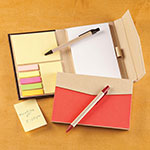 Memos, Notepads & Cards - Memo Book with Sticky Notes - Set of 2
