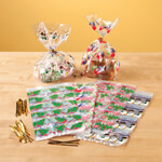 Candy & Fudge - Holiday Treat Bags, Set of 60