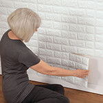 New - Faux Brick Wall Tile Decals