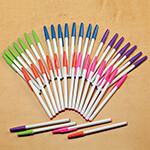 Labels & Stationery Sale - Colorful Ballpoint Pens, Set of 40
