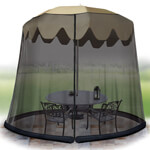 Pest Control - Umbrella Table Screen