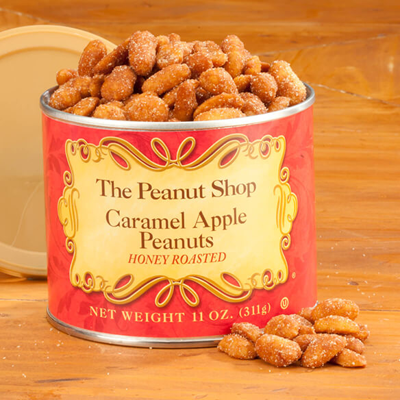 The Peanut Shop® Caramel Apple Honey Roasted Peanuts - View 1