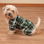 Pets - Green Plaid Dog Pajamas