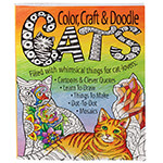 "Hobbies - Color, Craft & Doodle ""Cats"" Activity Book"
