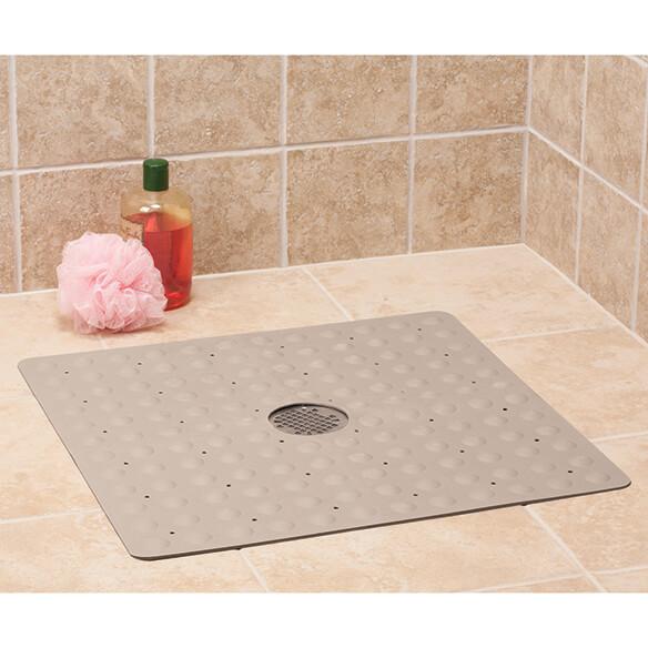 Natural Rubber Safety Shower Mat Non Slip Shower Mat