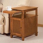 Accent Furniture - Appleton Recliner Table by OakRidge™