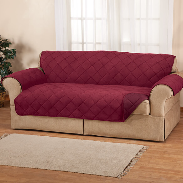 Naomi Suede-Microfiber Sofa Cover by OakRidge™ - View 1
